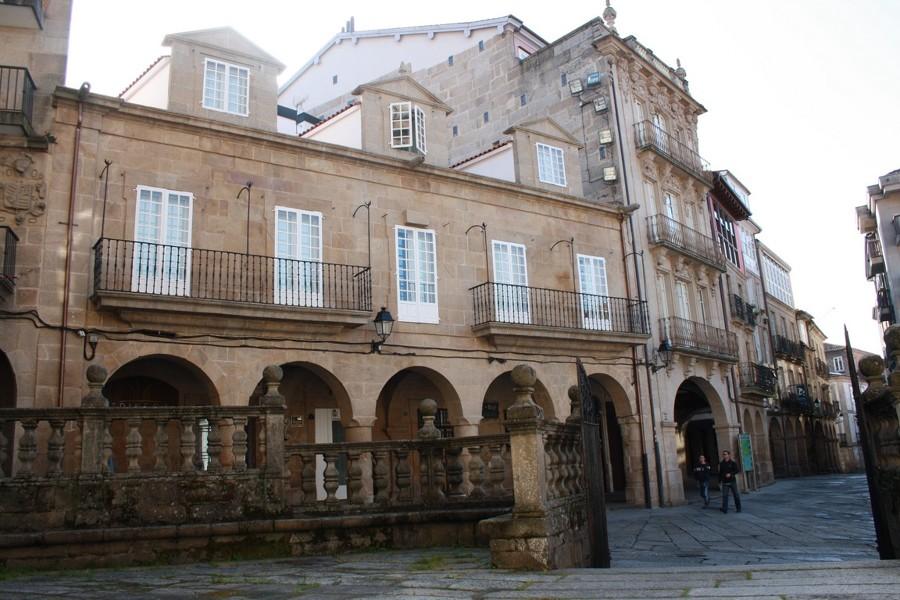 Fachada Plaza do Trigo, Ourense