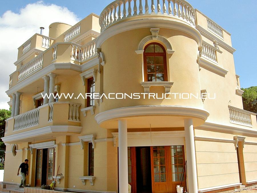 fachada posterior casa de lujo barcelona