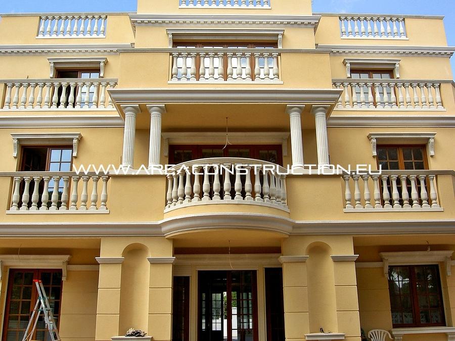 fachada principal casa de lujo barcelona