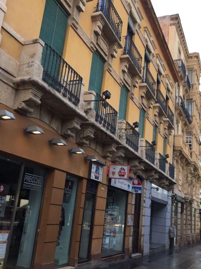 Fachada protegida. Paseo de Almería, 79.