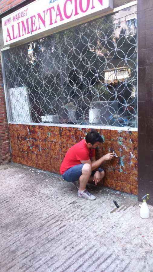 Fachada sin graffiti