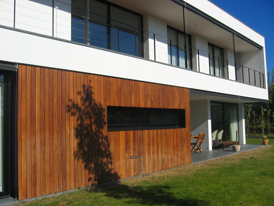 fachada sur y porche