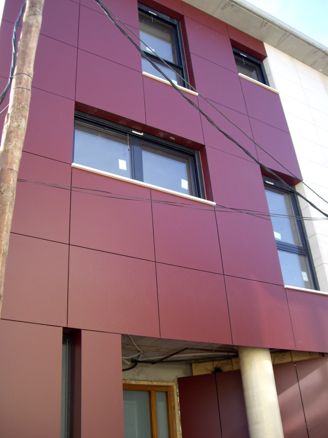 Obra en monzalbarba ideas alba iles - Precio fachada ventilada ...
