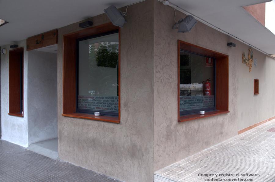 Foto fachada vinoteca de proyectos 192652 habitissimo - Vinoteca para casa ...