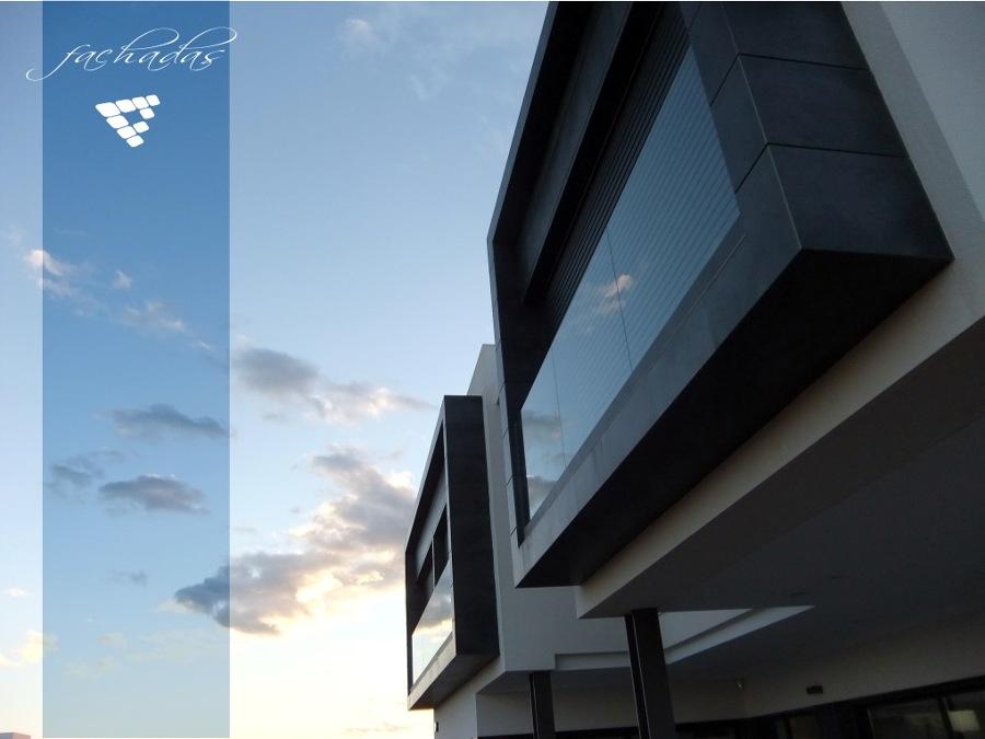 Fachada vivienda construida en Albal por CEF Valencia, s.l.