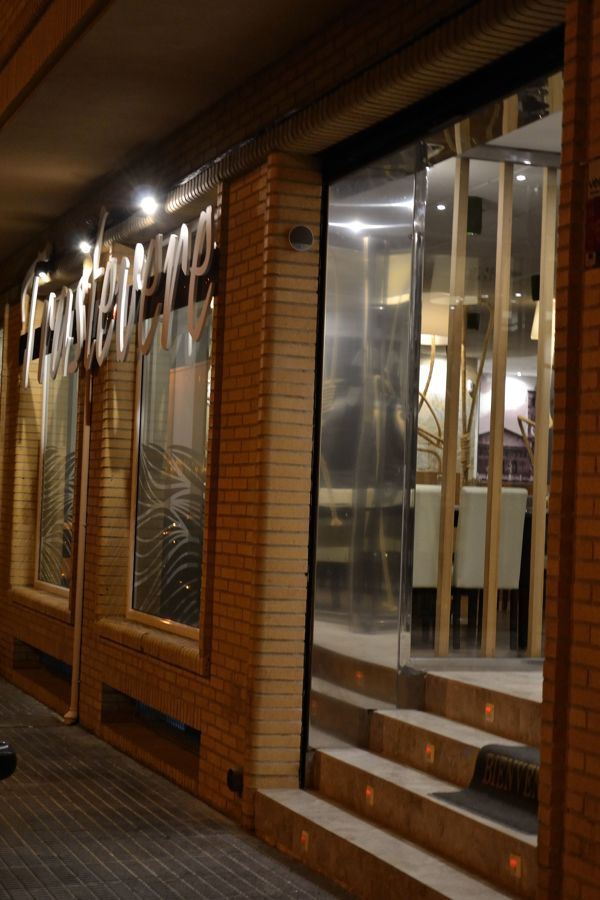 Fachada y entrada Trastevere