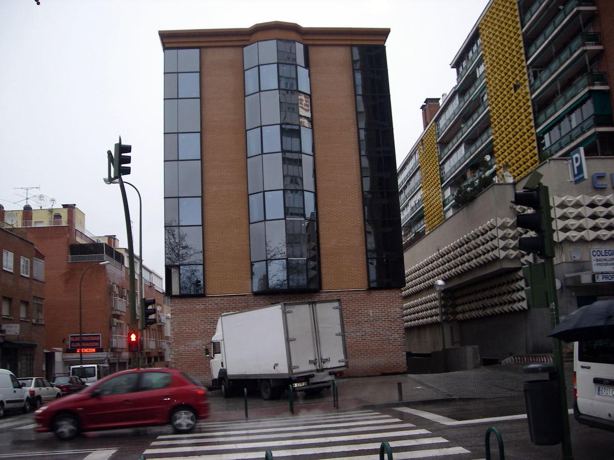 Foto fachada de aycal estudio de arquitectura slp 190827 for Estudios arquitectura zaragoza
