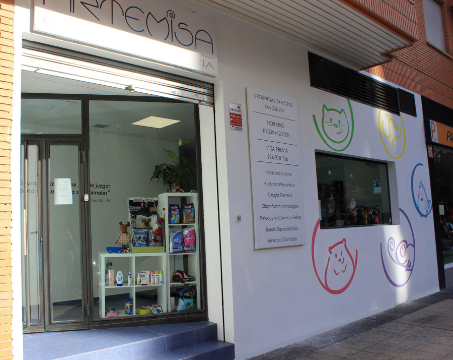 Clinica veterinaria artemisa ideas rehabilitaci n fachadas - Proyecto clinica veterinaria ...