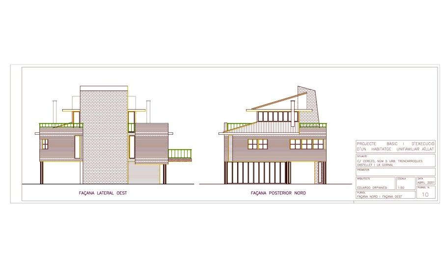 Proyecto de construcci n de vivienda unifamiliar aislada - Presupuesto construccion vivienda unifamiliar ...