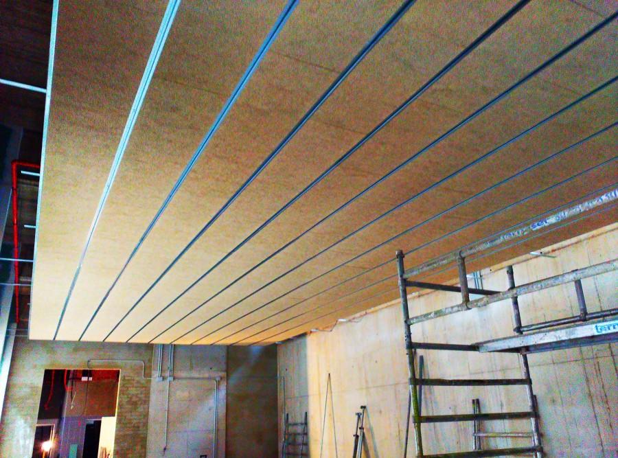 Pabellon fuensanta valencia ideas reformas viviendas - Falso techo madera ...