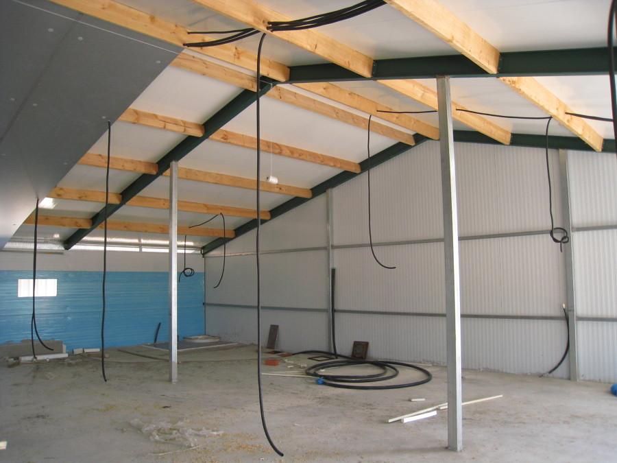 Falso techo aislamiento