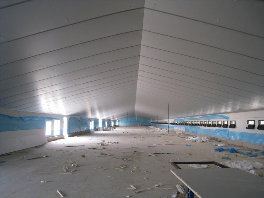 Falso techo aislante