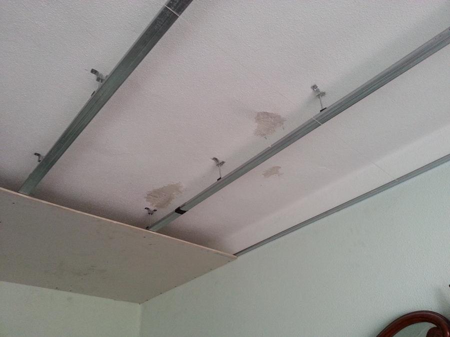 Falso techo en cocina en las palmas de gran canaria - Falsos techos de pladur ...
