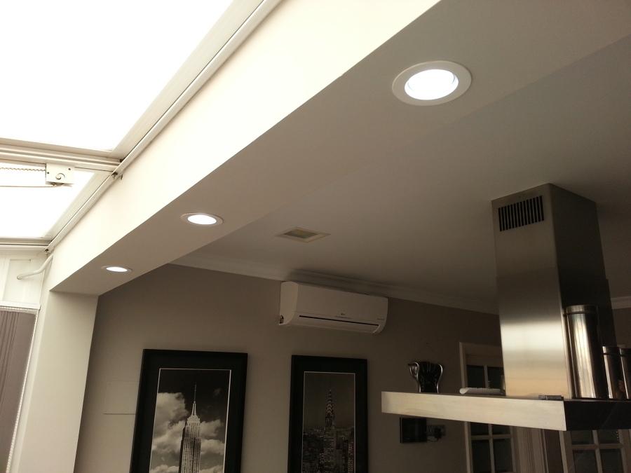 Falso techo en cocina en las palmas de gran canaria for Techos de drywall para cocinas