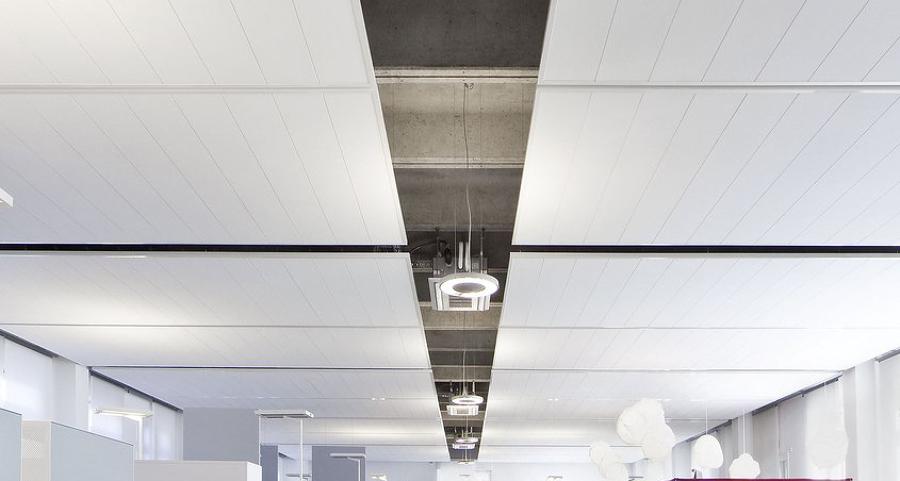 Falsos techos de cart n yeso todo lo que necesitas saber - Como colocar pladur en techo ...