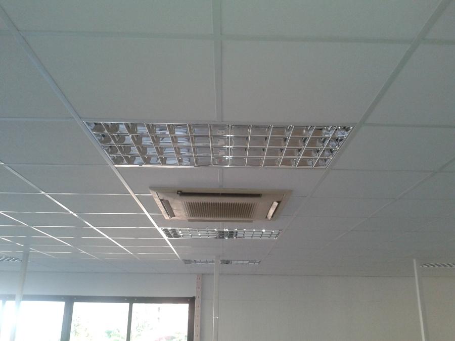 Como hacer un falso techo aire conductos escayola pladur - Como hacer un falso techo ...