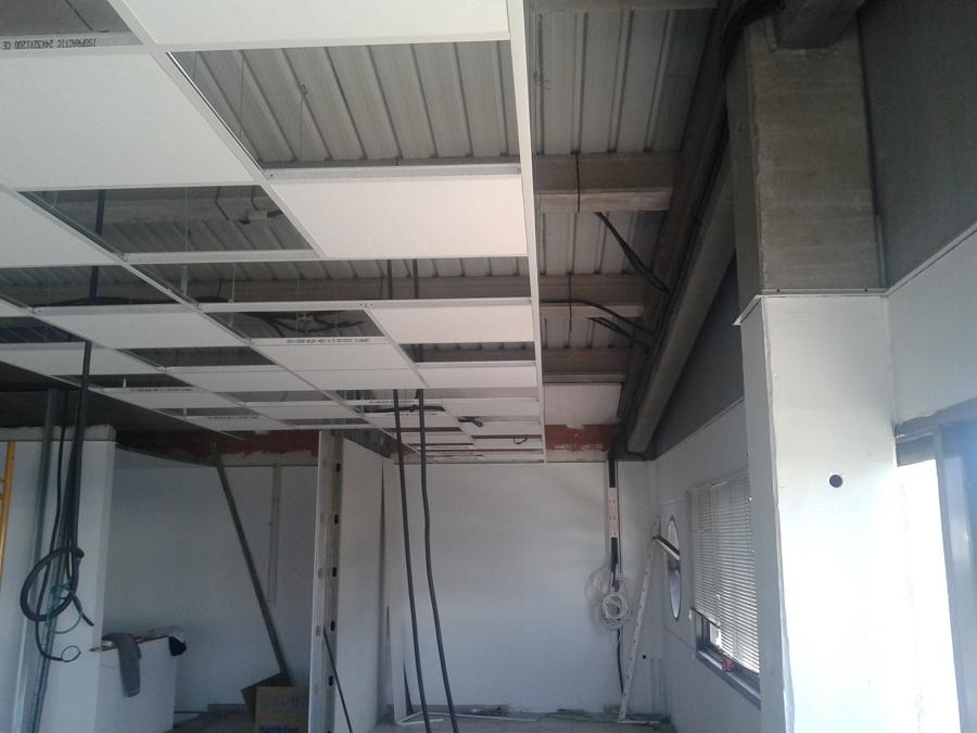 Falso techo y tabiqueria ideas pladur - Poner falso techo ...