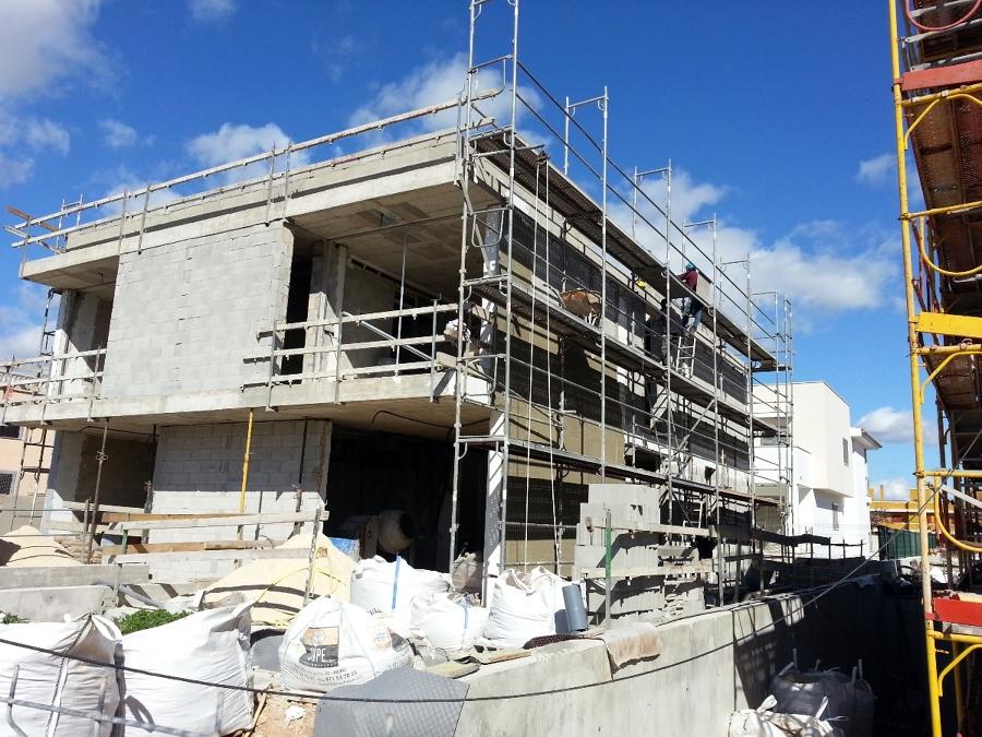 Dos viviendas unifamiliares adosadas de nueva construcci n - Proyectos de viviendas unifamiliares ...