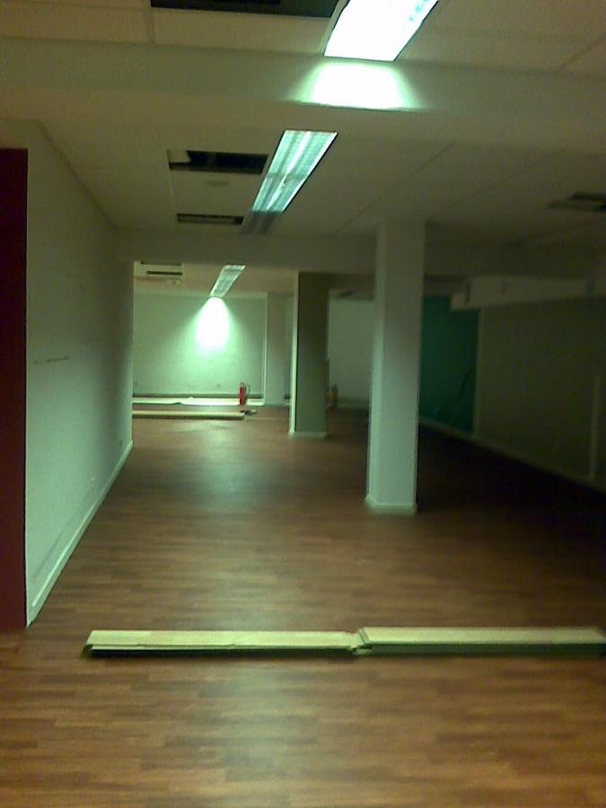 FASE DE MONTAJE  PAVIMENTO PVC PLANTA 2ª