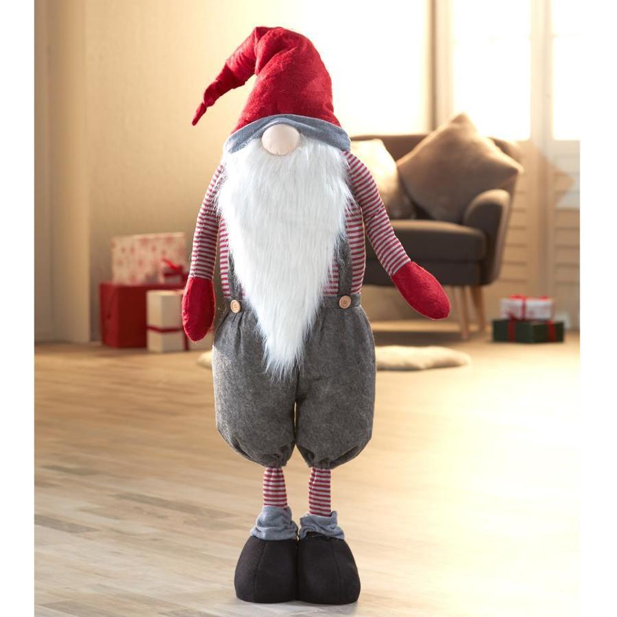 Figura de Papá Noel de trapo