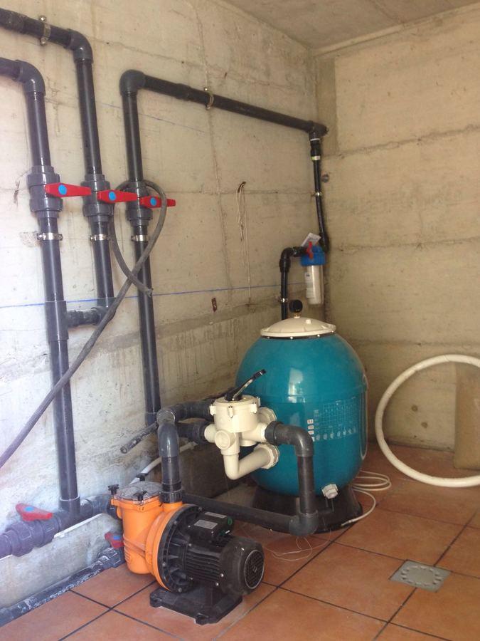 Filtracion piscina en pvc de presion e inox