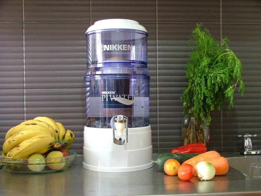 Filtrador de agua de jarra