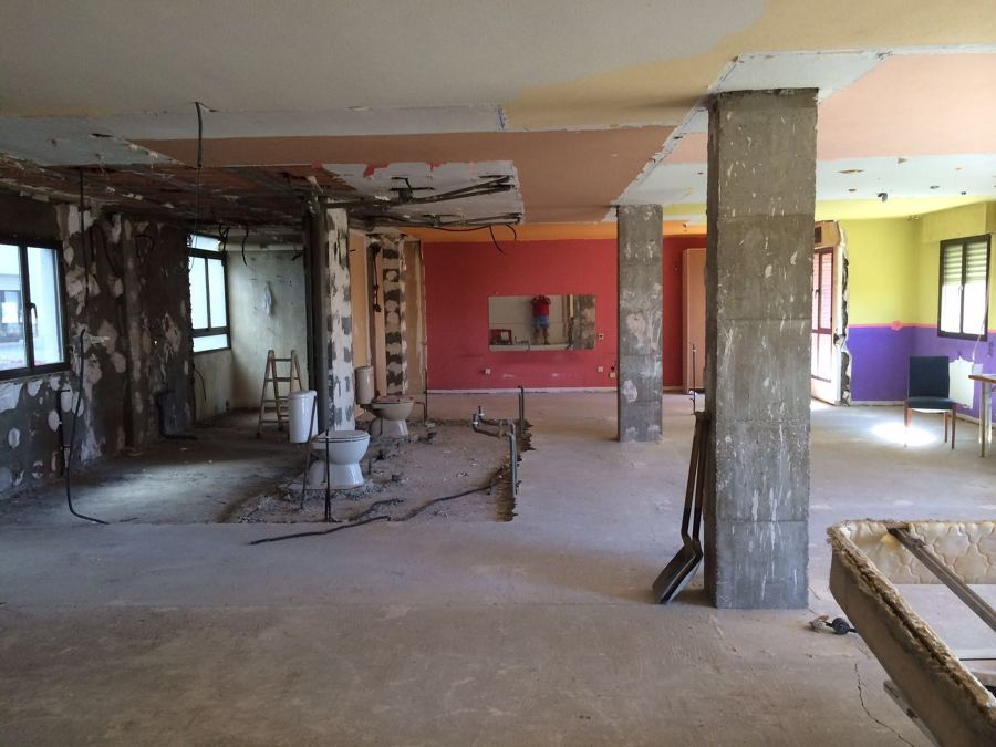 Fin de la demolición