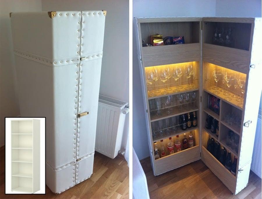 Los 19 mejores hacks de ikea ideas art culos decoraci n - Como hacer un mueble de salon ...