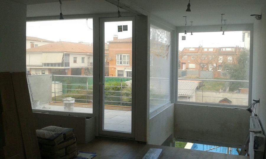 Fixos i porta balconera PVC