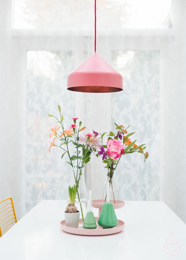 flores en tonos pastel
