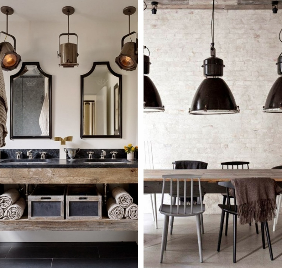 Ilumina tu hogar como una estrella de cine ideas decoradores for Lampara focos techo