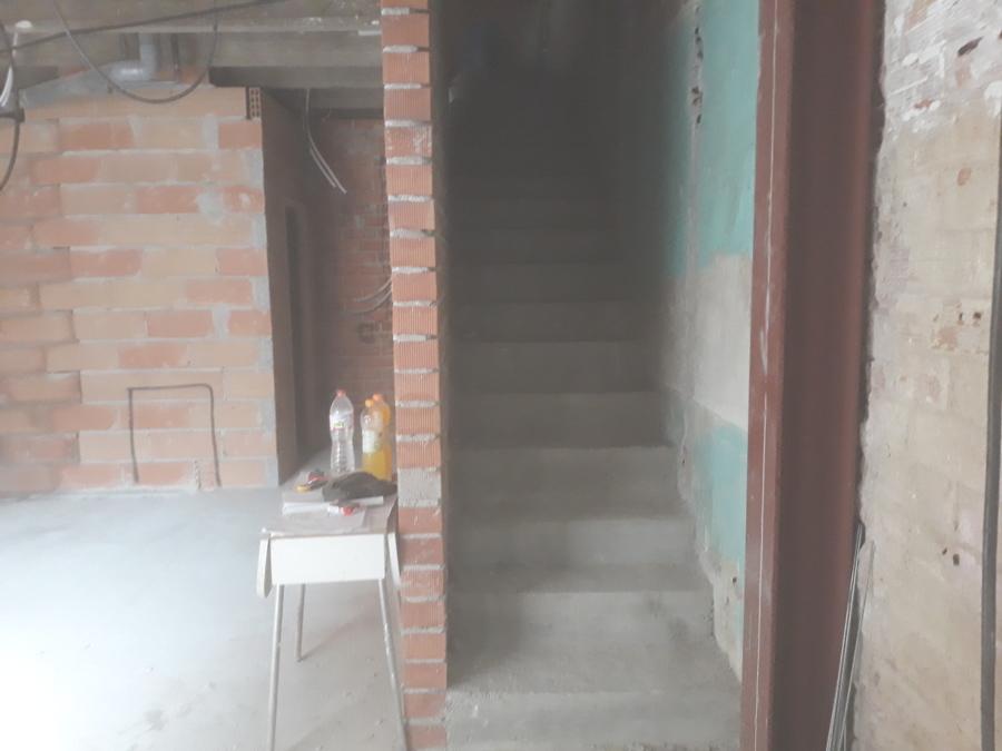 Formación de escalera de hormigón
