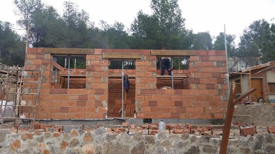 Formacion de fachada/muro de carga