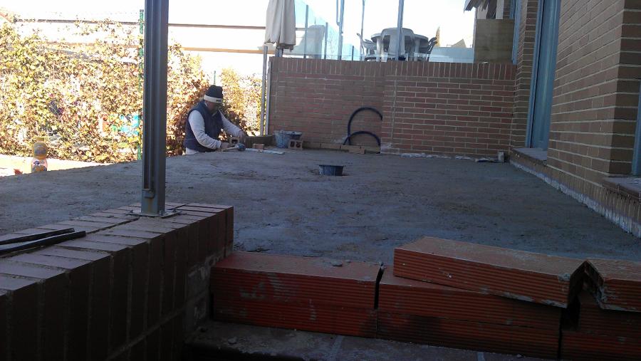 Formaci n de terraza en vivienda unifamiliar ideas for Viviendas para terrazas