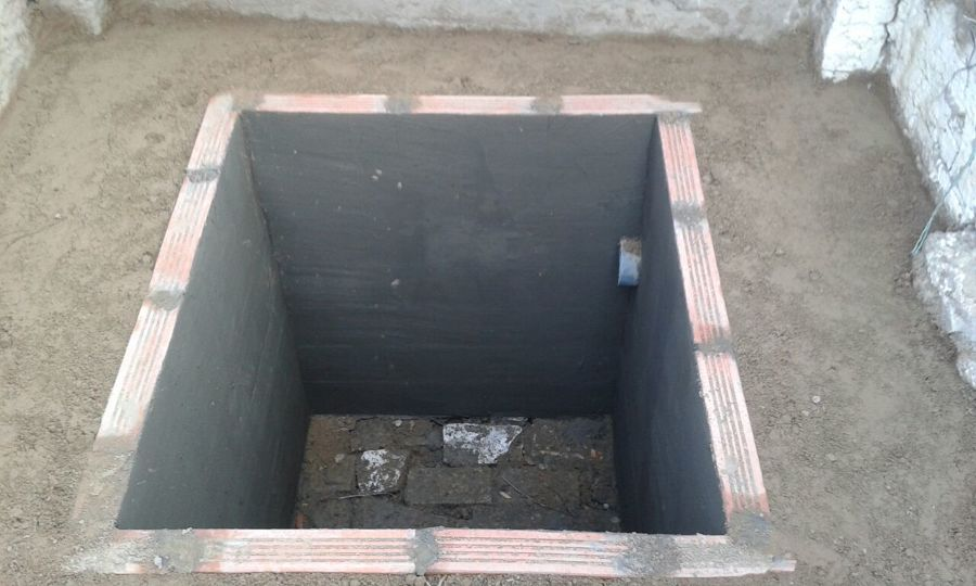 Foto fosa septica de mihogarok 1054699 habitissimo - Construir fosa septica ...