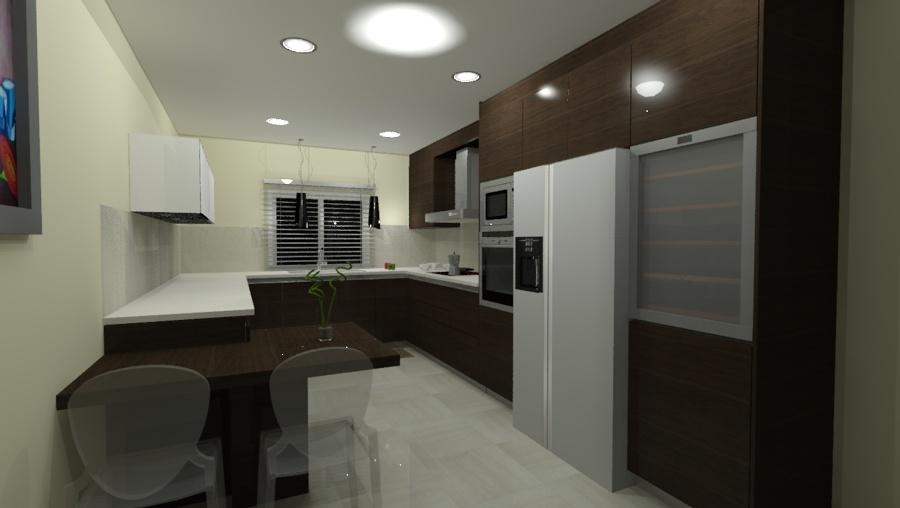 Foto cocina con electrodomesticos