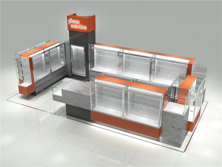 Dise o y reforma para kiosk inform tico con mostrador y for Amueblar piso entero