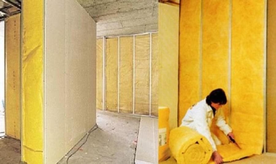 Caracter sticas de la lana de vidrio como aislante t rmico y ac stico ideas aislamiento - Aislante acustico para paredes ...