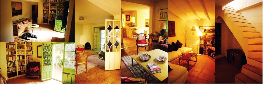 Fotografías del estado actual de la planta baja del interior de la vivienda
