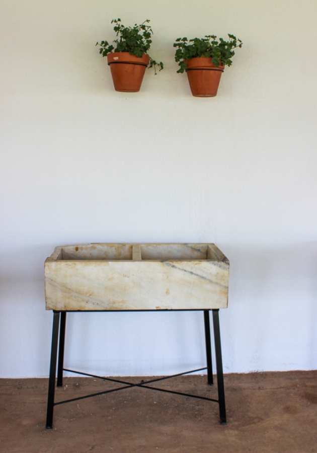 Foto fregadero de m rmol de conely 1204206 habitissimo - Fregadero marmol ...