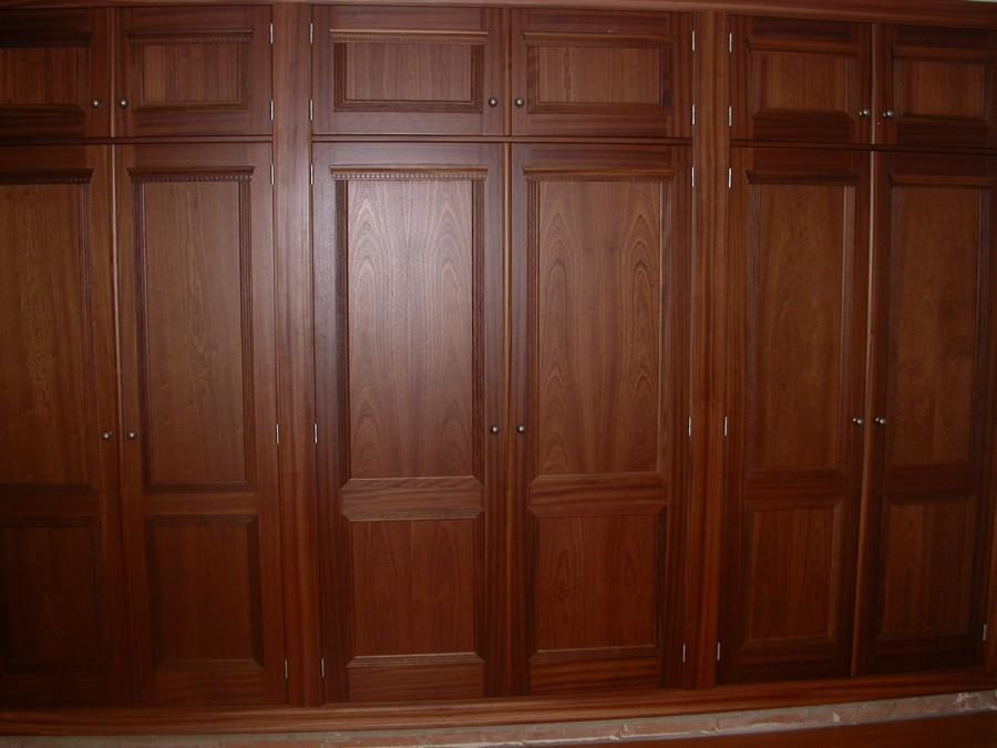 Frente armario abatible sapelly