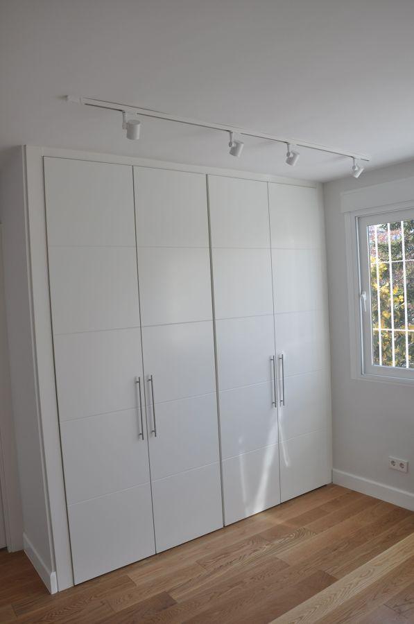 Carpinteria de madera en chalet ideas construcci n casas - Lacar puertas en blanco precio ...