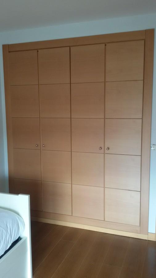 Foto frentes armarios empotrados de r mantenimientos y - Frentes de armarios empotrados precios ...