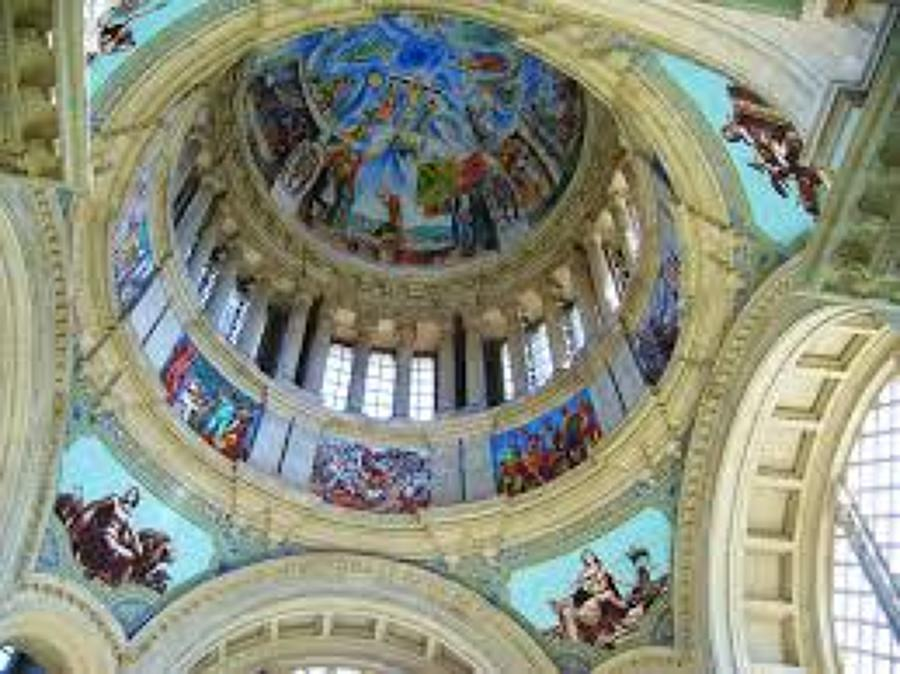 Frescos Sala Oval