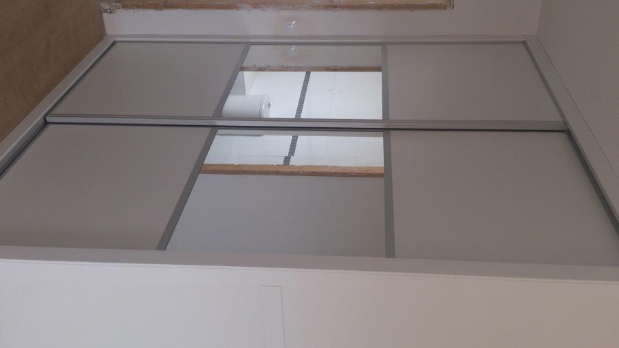 frontal armario con espejo