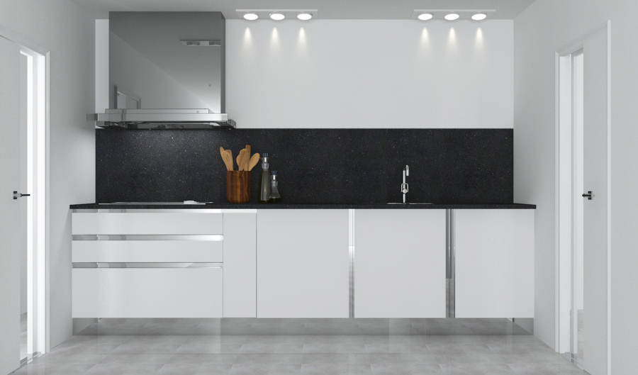 Reforma de cocina en piso de barcelona ideas for Frontal cocina ideas