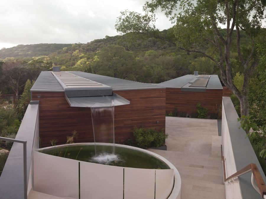 Fuentes decorativas un oasis en tu terraza o jard n ideas jardineros - Fuente terraza ...
