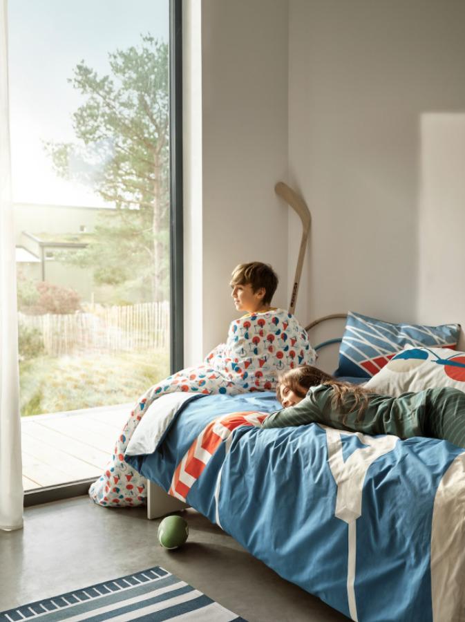 Funda nórdica infantil fresca IKEA novedades verano 2021
