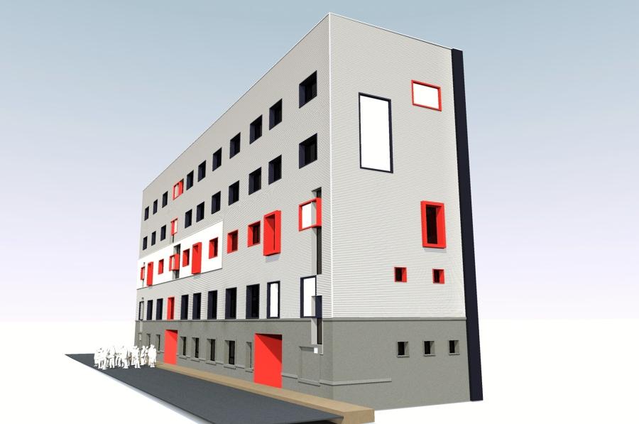 FUNDACION RAIS MURCIA - Proyecto - perspectiva 1