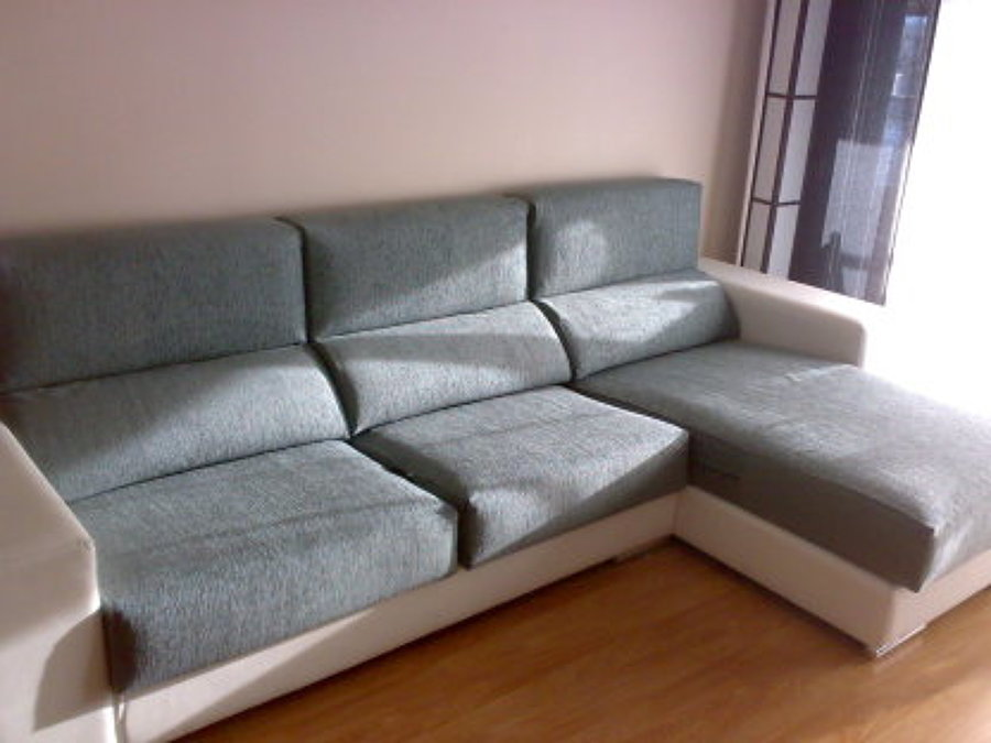 Fundas para cojines chaise longue ideas tapiceros - Fundas de sofa con chaise longue ...